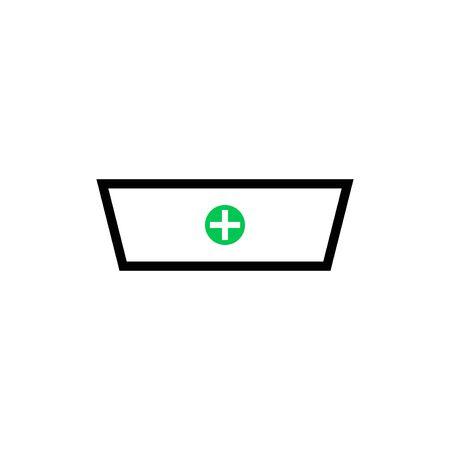 medical box vector graphic design illustration