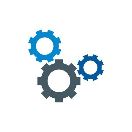 gear vector icon design element Иллюстрация