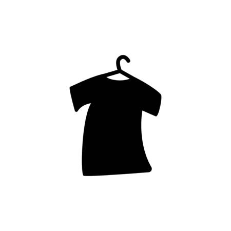 tshirt silhouette vector design template illustration