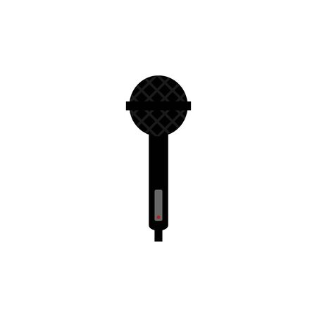 microphone vector design template illustration