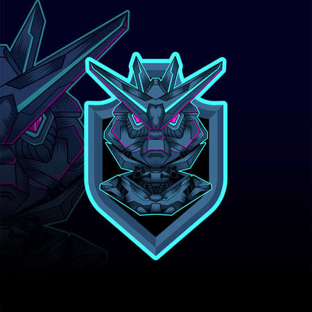 mecha esport vector graphic design illustration 向量圖像