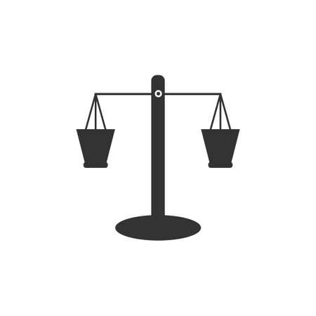 scales vector design template illustration