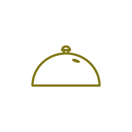 restaurant cloche vector design template illustration