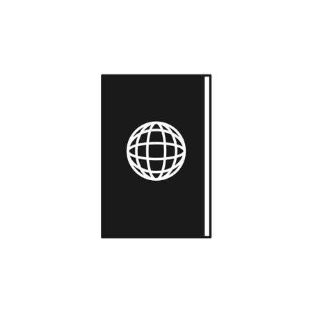 passport vector graphic design illustration