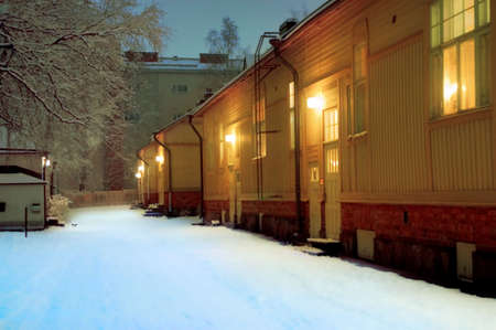 apartments in winter