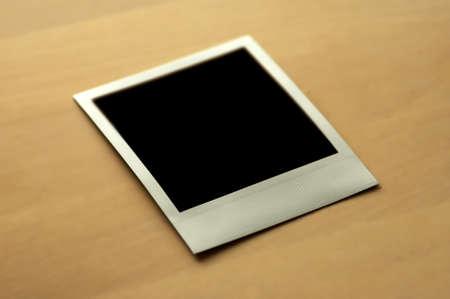 develope: blank photo Stock Photo