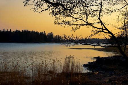 sea near helsinki city Stock Photo