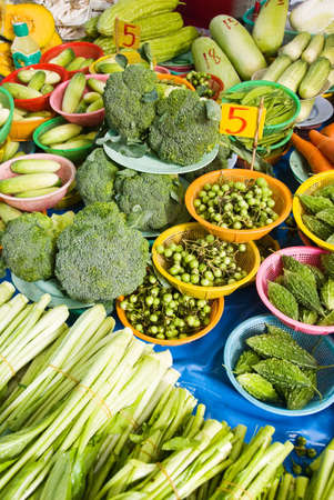 exoticism: asian herbs and vegetables