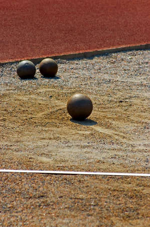 track and field equipment Stock Photo - 2784693