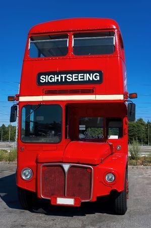 doubledecker bus Stock Photo
