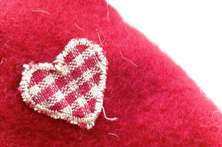sewn heart Stock Photo - 2784684