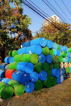 chemical barrels photo