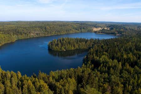 finland�s: Fin�s paisaje nacional Foto de archivo