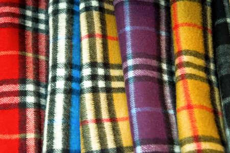bufandas: pa�uelos de colores