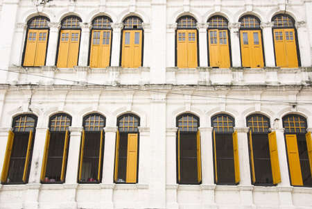 old office: old office facade