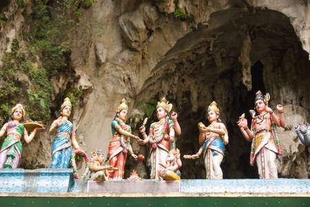 kavadi: batu caves temple, kuala lumpur