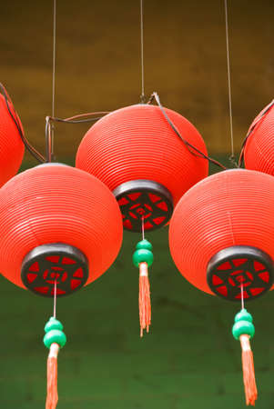 chinese temple lanterns