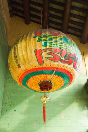 paper lantern at temple