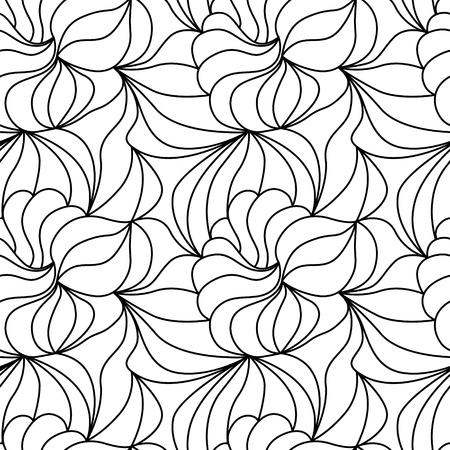 Natural seamless calming pattern.