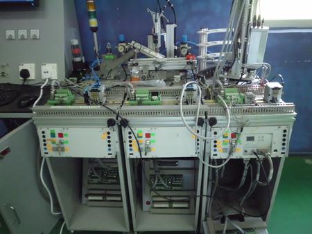 PLC Automation Training kit 5 Stock Photo