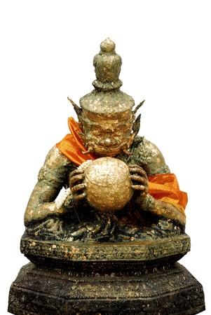 Rahoo Statue photo