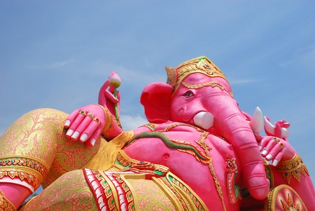 Big ganesha statue Stock Photo