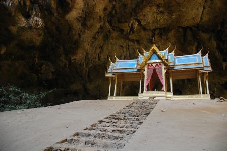 golden pavilion in Sam Roi Yod  photo