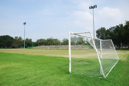 bleachers: Mini football field
