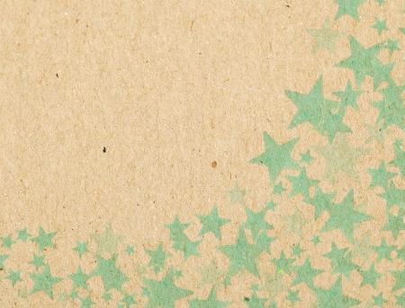 fabrick: Many stars on paper box background