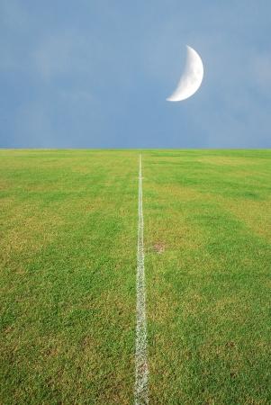 bleachers: football field