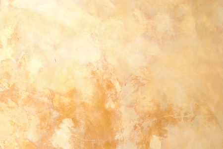 Yellow grunge cement wall background Stock Photo - 17777798