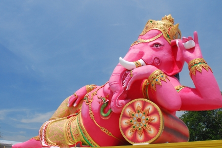 Big ganesha statue photo