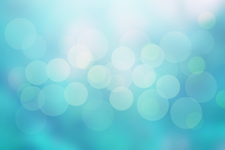 abstract blue background and bokeh circles photo