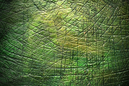 abstract green metal surface background Stock Photo - 21580087