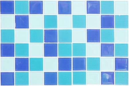 mosaic tiles: blue mosaic tiles Stock Photo