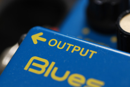 Overdrive Pedal Guitar effect, output side