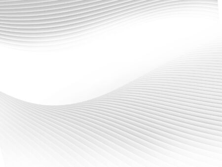 Abstract white colour background. Abstract grey white waves and lines background.-image Stockfoto - 138071523