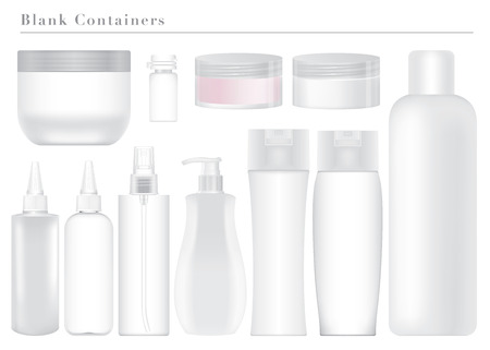 Blank White Containers