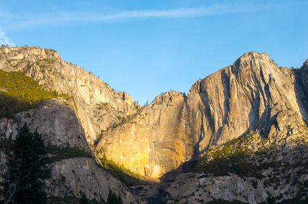 the sentinel: yosemite national park,California,tourism of America Stock Photo