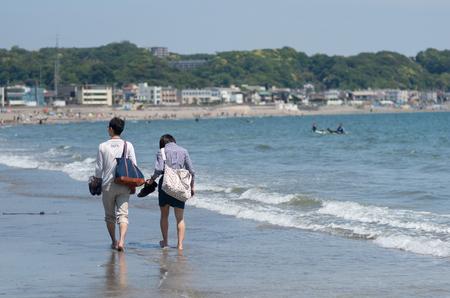 kamakura: shonan seaside area,kamakura,kanagawa japan