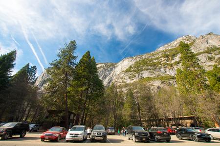 solemnity: yosemite national park,California,tourism of America Editorial