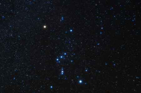 Orion ster Stockfoto