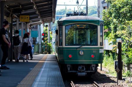 enoshima: Enoshima railway,kamakura,kanagawa(prefectures),tourism of japan