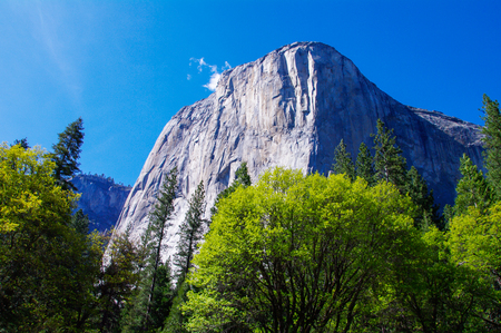 solemnity: yosemite national park,California,tourism of America Stock Photo
