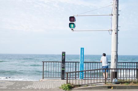 kanagawa: shonan seaside area,kamakura,kanagawa japan