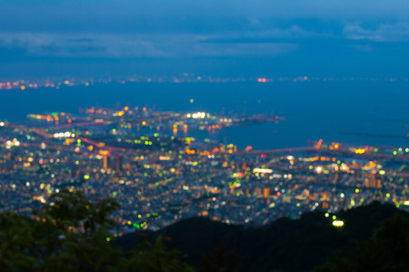 Rokko night view, tourism japan
