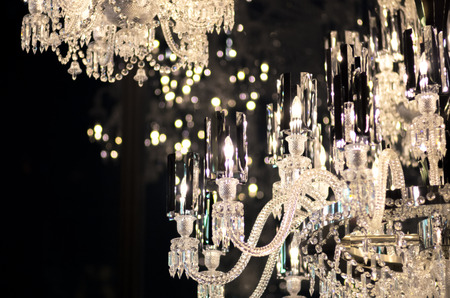 diamond shape: chandelier