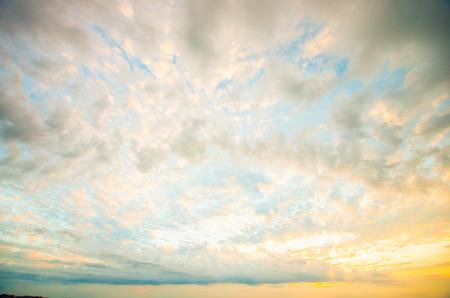 evening sky: morning glow sky cloud