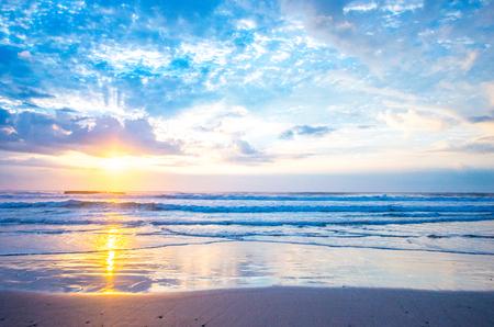 Sea of the morning glow