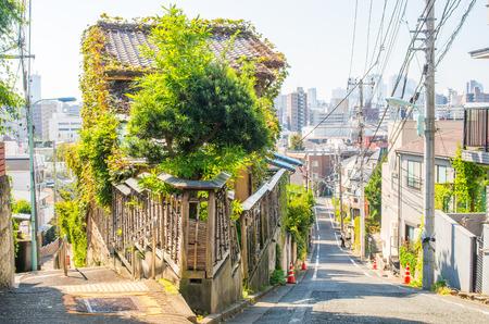 Fujimizaka slope,tokyo,japan